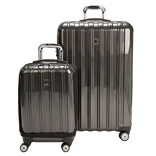 delsey-luggage-aero-hardside-carry-on-and-check-in-charcoal