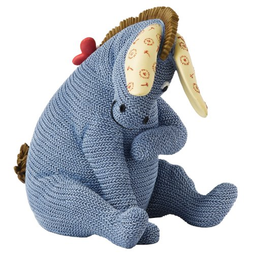 Classic Pooh Knitted Eeyore Money Bank front-1068175