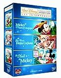 echange, troc Les intemporels Disney : Les 3 petits cochons + Mickey et le haricot magique + Le Noël de Mickey - coffret 3 DVD