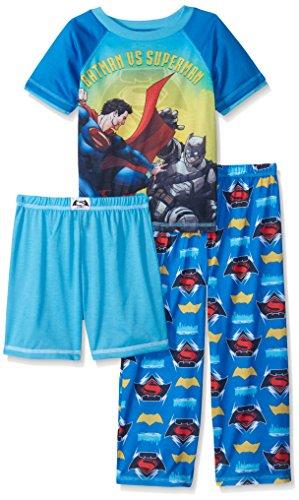 Justice League Boys' Batman Vs Superman 3 Piece Set with Short at Gotham City Store