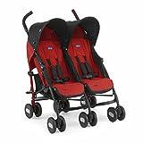 Chicco Twin Stroller Echo Twin Garnet