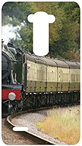 Steam Engine Train Back Cover Case for LG G3