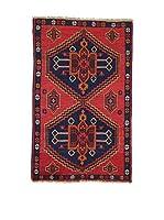 L'EDEN DEL TAPPETO Alfombra Beluchistan Rojo/Multicolor 90 x 143 cm
