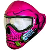 Save Phace Tagged Series Pandora Pink Tactical Mask with Skull & Rose
