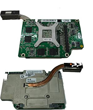 Dell Carte VGA pour ordinateur portable, nVidia Quadro FX1400M JF987-256 Mo pour Dell Latitude D810/Precision M70