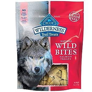 Blue Buffalo Wilderness Grain-Free Wild Bites - Salmon - 4 oz