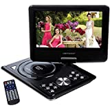 "DBPOWER 9.5"" Portable DVD Player Remote Control In Car Game+USB+FM+SD Swivel & Flip New 959"
