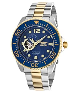 Invicta Men's 15401 Pro Diver Analog Display Japanese Automatic Two Tone Watch