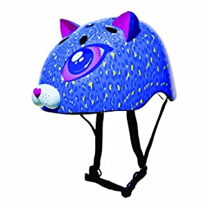 Raskullz Cutie Cat Helmet (Purple, Ages 5+)