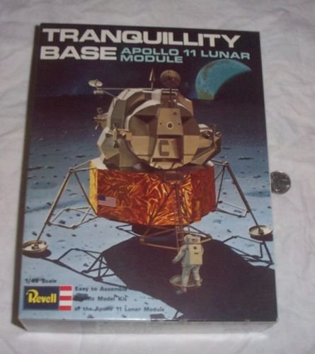 1975 Revell Tranquillity Base Apollo 11 Lunar Module Model