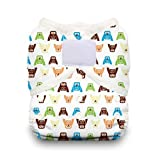 Thirsties Duo Wrap Diaper Cover with Hook and Loop, Hoot, Size 2 by Thirsties