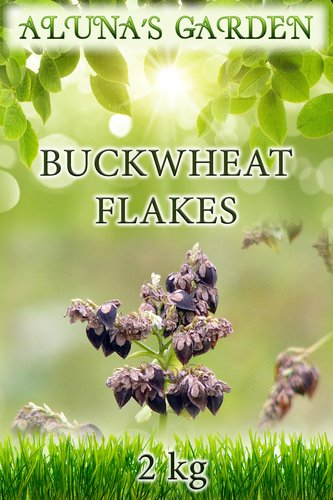 Finest Quality Buckwheat Flakes 2kg - Organically Sourced