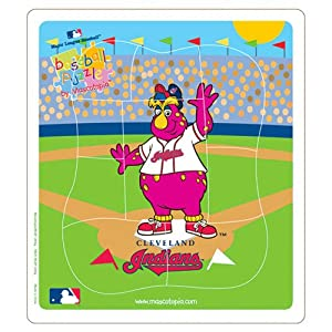 Cleveland Indians MLB Licensed 9-pc Puzzle for Toddlers by Hunter