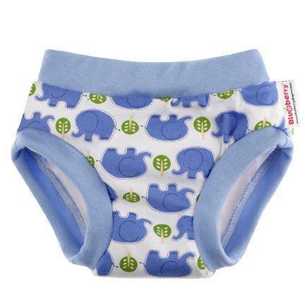 Blueberry Daytime Trainers Potty Training Pants, Medium, Elephant