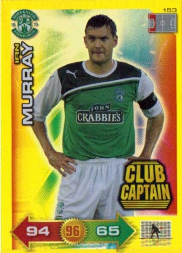 Adrenalyn XL Scottish Premier League SPL 11/12 Ian Murray 2011/2012 Club Captain
