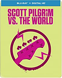 Scott Pilgrim vs. The World - Limited Edition Steelbook (Blu-ray + Digital Copy + UltraViolet)