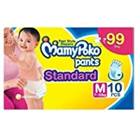 Mamy Poko Pant Style Medium Size Diapers (10 Count)