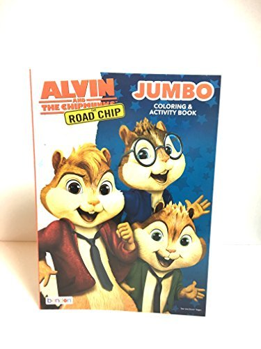 Alvin and the Chipmunks The Road Trip Jumbo Coloring & Activity book by Alvin and the Chipmunks