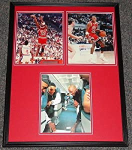 Michael Jordan & Scottie Pippen Framed 18x24 Photo Set Chicago Bulls B by The Steel City Auctions Gallery