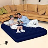 Bestway Comfort Quest Double Airbed With Sidewinder Mains powered INflation Air Pump
