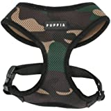 Puppia Soft Dog Harness, Medium, Camouflage