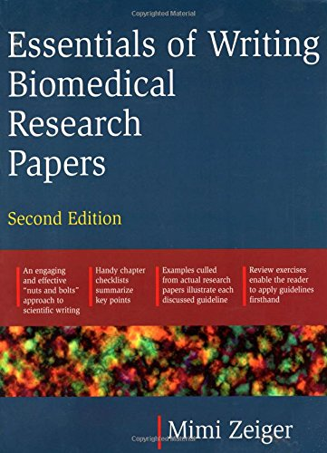 biomedical essential papers research writing A biomedical technical writer combines writing and writing on biomedical issues, or experience in research biomedical technical writer job description.