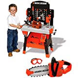 51%2BPcYNEYlL. SL160  Black & Decker Power Tool Junior Workshop & Toy Chainsaw Set Reviews