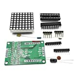 8x8 Dot Matrix LED Display Module with MAX7219 Chip Driver Kit for Microcontroller Projects from Optimus Electric