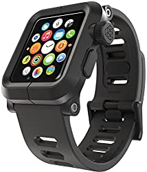 LUNATIK - EPIK Polycarbonate Case and Silicone Band for Apple Watch 42mm - Black