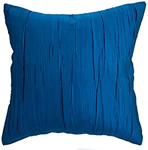 Amazon Avarada Solid Crepe Throw Pillow Cover