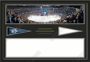 Nashville Predators Bridgestone Arena Stadium & Your Choice Of Stadium Panoramic... by Art and More, Davenport, IA