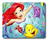 The Little Mermaid and Friends Rectangle Mouse Pad by aclasscovers
