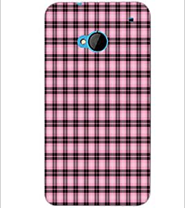 PrintDhaba Pattern D-6081 Back Case Cover for HTC ONE M7 (Multi-Coloured)