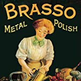Brasso Metal Polish Single Coaster