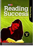 img - for SRA Reading Success: Effective Comprehension Strategies Level B (Teacher Book and Student Workbook(Assessment Blackline Masters)) book / textbook / text book