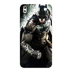 Gorgeous Knight Thrash Multicolor Back Case Cover for HTC Desire 816g