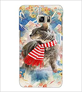 PrintDhaba Cat D-3179 Back Case Cover for SAMSUNG GALAXY NOTE 5 (Multi-Coloured)