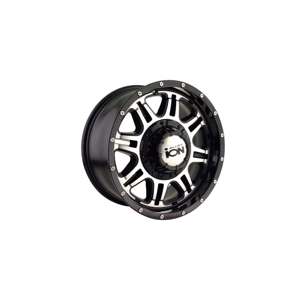 Alloy Style 186 (Black w/ Machined Face) Wheels/Rims 5x127/114.3 (186