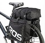 DCCN Wasserdicht Fahrrad Packtaschen Satteltasche Fahrradtasche Gepaecktraeger Super Design 3