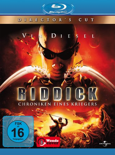 Riddick - Chroniken eines Kriegers (Director's Cut) [Blu-ray]