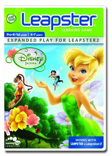 LeapFrog Leapster Learning Game Disney Fairies
