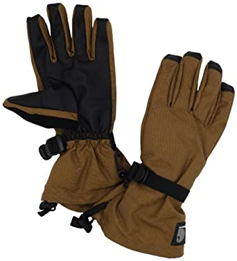 Carhartt Men's Systems Glove, Brown Black, Large