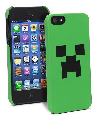 MINECRAFT(マインクラフト) クリーパー・フェイス iPhone 5 ケース [並行輸入/米国正規品]