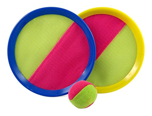 Velcro Toss and Catch Sports Game Set for Kids with Grip Mitts & Bean Bag Ball (Sports Games Kids compare prices)