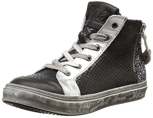IKKS  June,  Sneaker ragazza Nero Noir (Vts Noir/Argent Dpf/Torres) 30