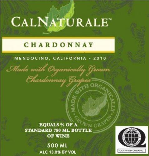2010 Calnaturale Chardonnay Mendocino 500 Ml