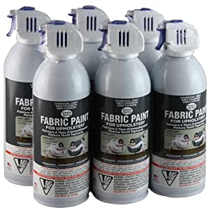 simply spray upholstery fabric spray paint 6 pack charcoal grey. Black Bedroom Furniture Sets. Home Design Ideas