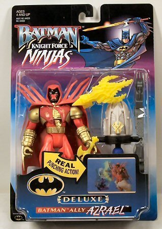 Buy Low Price Kenner Batman Knight Force Ninjas Azrael Deluxe Action Figure (B001A70KXO)