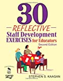 img - for 30 Reflective Staff Development Exercises for Educators book / textbook / text book