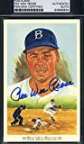 PEE WEE REESE SIGNED PSA/DNA PEREZ STEELE CELEBRATION AUTHENTIC AUTOGRAPH